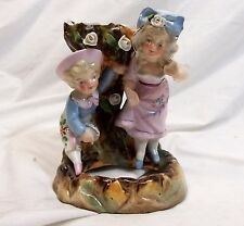 Antique Conta Boehme Spill Vase Boy Girl Children 8504 Porcelain Figurine German