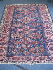 ANTIQUE CAUCASIAN  SOUMAC SMALL  RUG  1890-1900  YOU MUST SEE .