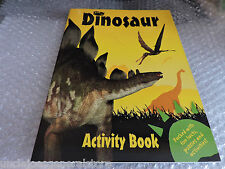 DINOSAUR - Fun Facts, Puzzles and Activities YELLOW BOOK Ages 5+ ~