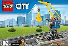 LEGO City Crane with track - from 60098 Heavy Haul Train - No Box