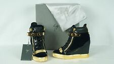 Giuseppe Zanotti RW5010 High Top Wedge Sneaker US 8M 38 NIB $1025