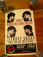 ANTHONY GREEN The Dear Hunter Keep A Breast Beautiful Things Concert Tour Poster