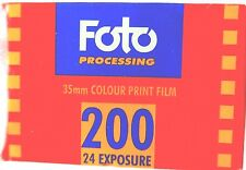 FOTO PROCESSING  200  35mm FILM EXPIRED  2000   LOMOGRAPHY 35mm FILM   200 ISO
