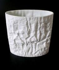 Rosenthal Martin Freyer vase mignonnette porcelaine h 23cm blanc porcelain ANNEES 70