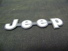 Jeep Side Emblem Stock OEM Used Good Condition