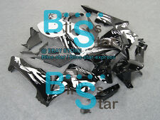 Black Glossy INJECTION Fairing Bodywork Kit Set HONDA CBR600RR 2005-2006 109 A6