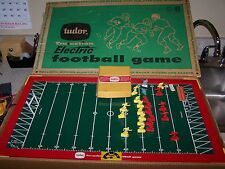 Tudor Tru Action Electric Football Game Original Box Excellent Working Condition