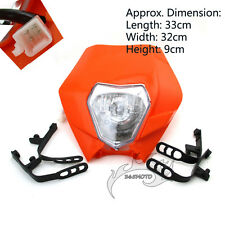 Motorcycle Headlight For KTM R SX EXC XC XCF SXF 65 85 105 250 350 450 525 Motor