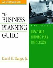 The Business Planning Guide Bangs, David H. Books-Good Condition