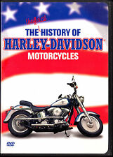 THE UNOFFICIAL HISTORY of HARLEY-DAVIDSON MOTORCYCLES From 1903 to Present DVD