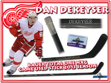 DAN DEKEYSER Game Used Stick DETROIT RED WINGS - BAUER TOTAL ONE