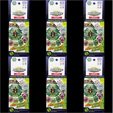 6pcs Beyblade Burst #49 Random Booster Vol. 3 Yeager Yggdrasil .G.Y Authentic