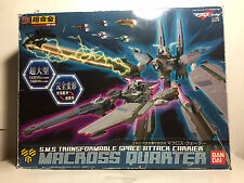 HUGE Macross Quarter Bandai DX Chogokin Frontier US SELLER