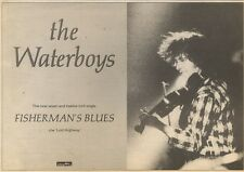 7/1/89Pgn26 Advert: The Waterboys 'fisherman's Blues' The New Single 7x11