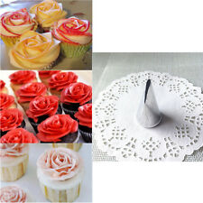 Rose Flower Icing Piping nozzle Pastry Tube Cake Cream Decorating Tool Baking CA