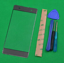 gray Front Panel Screen Glass Lens Replacement For SONY XPERIA XA F3111