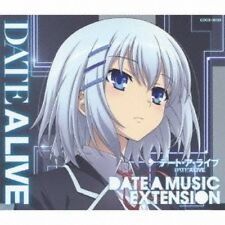 New DATE A LIVE Music Selection DATE A MUSIC EXTENSION CD Japan Anime COCX-38133