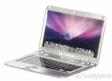 Dollhouse Miniature 1:12 Scale Laptop, Silver (APPLE) #G7067
