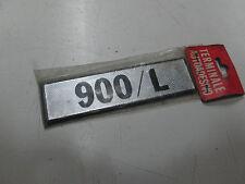 Stemma targhetta Fiat 900/L ( non originale )  [953.16]