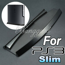 NEW NERO CONSOLE STAFFA SUPPORTO DOCK BASE PER SONY PLAYSTATION 3 PS3 SLIM