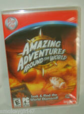 Amazing Adventures Around the World PC. CD-ROM, Brand New Game
