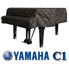 "Yamaha Grand Piano Cover C1 Black Quilted Cover 5'3"" G1, GP1, GC1, G1F, GH1B"