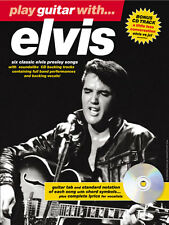 Play Guitar With ELVIS Music vs jxl TAB Book & CD Suspicious Minds POP ROCK SONG