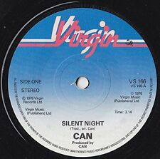 Can, Silent Night, NEW/MINT UK 7 inch vinyl single in plain white paper sleeve