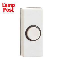 Greenbrook DP220A-C Doorbell Door Bell Push - White
