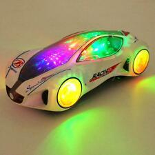 3D SUPERCAR ELECTRIC TOY WITH FLASHING WHEEL & MUSIC BOY GIRL KIDS CHRISMAS GIFT