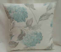 Laura Ashley Designer Cushion Cover HYDRANGEA DUCK EGG  Fabric Various Sizes