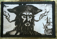 Blackbeard the Pirate Morale Patch Milspec Tactical Jolly Roger