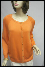 St John Knit COLLECTION NWT Apricot Shimmer JACKET SHELL SUIT SZ XL 14 16 $1590