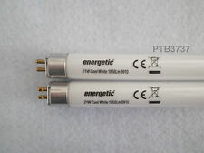 DEAL OF 2! ENERGETIC T5 FLUORESCENT LAMPS COOL WHITE 21W 863MM PIN TO PIN