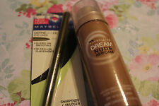 Lot of 2 Maybelline New York Dream Nude Airfoam 350 & Define-A-Line 809