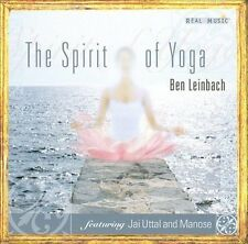 The Spirit of Yoga by Ben Leinbach (CD, Nov-2003, Real Music Records)