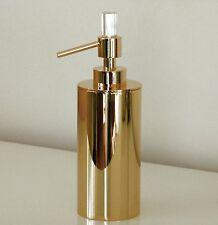 sehr exklusiver Design Seifenspender Farbe Gold, mit SWAROVSKI Elements Kristall