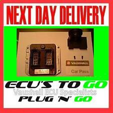 VAUXHALL OPEL  ECU KIT ZAFIRA 1.8 16V X18XE1 PART No 90582539 FULLY PROGRAMMED