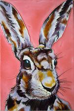 Hare art moderne image céramiques décoratives ferme tuiles Art mur de cuisine 8x12 05208
