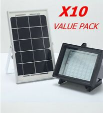 Bizlander®60LED Solar Flood Light for Farm Home Garden Sign Board X10 VALUE PACK