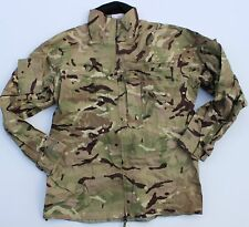(7) BRITISH ARMY GORETEX BREATHABLE WATERPROOF JACKET MVP MTP MULTICAM CAMO L