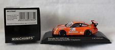 """Minichamps 1/43 Porsche 911 GT3 Cup, #97, """"Jaegermeister"""", IMSA GT3 Cup 2007"""