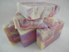 Lavender Handmade Natural Organic Soap (3 x bars) Vegan