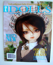 Dolls Magazine April 2015 Anna Zueva Kitty Collier Pattern Doll Scene News Q&A