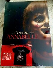 COFFRET COLLECTOR BLU-RAY ANNABELLE + T-SHIRT