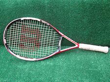 Tennis Wilson N Code N5 Tennis Racquet Scratched w/ Paint Chips Needs New 4 1/2