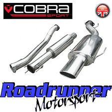 "Cobra Sport Astra GSI MK4 Exhaust System 2.5"" Stainless Cat Back Resonated -VX52"