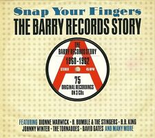 SNAP YOUR FINGERS THE BARRY RECORDS STORY 1960 - 1962 * 3 CD BOX SET