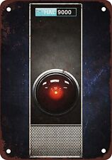 1968 HAL 9000 of 2001 Space Odyssey Vintage Look Reproduction Metal Sign