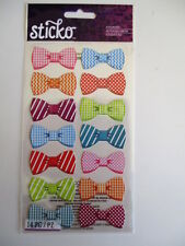 STICKO STICKERS - PATTERN BOWS